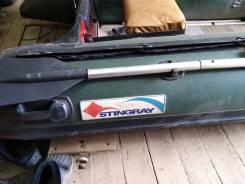 Лодка пвх стингрэй 320 2011г. в алюминиевый пайол