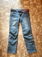 Мото джинсы, фирменные, с защитой, р 32