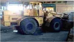 Погрузчик (ТО-11) П-4/85, 1987
