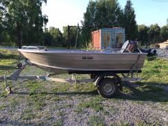 Алюминиевая моторная лодка Quintrex 350