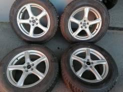 Отличные зимние шины Данлоп 225/65 R17 на красивом литье 5/100