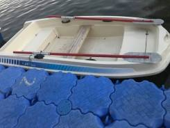 Лодку пластиковую 3 шт с электромотором продаю.