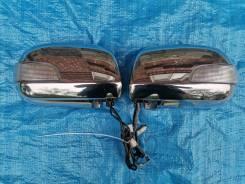 Зеркала хром на Toyota Harrier, Lexus, с повторителями и подогревом
