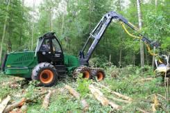 Участок по лесозаготовке с техникой под выкуп
