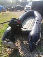 Лодка Гладиатор 350 НДНД + мотор Tahatsu 9.9. с водометом Карась