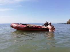 Продам лодку ПВХ 4.3 метра.