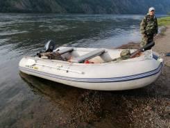 Продам ПВХ лодку Solar 380 и мотор Suzuki 9.9(15)