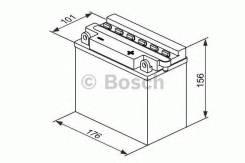 Аккумулятор для мототехники Bosch MOBA FP M4F 12V 19AH 190A (YB16L-B) 176x101x156mm 6.66kg Bosch 0092M4F430