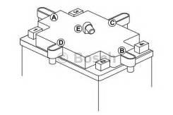 Аккумулятор для мототехники Bosch MOBA AGM M6 12V 10AH 90A (YTX12-4/YTX12-BS) 152x88x131mm 4.47kg Bosch 0092M60140