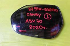 Полотно зеркальное левое Toyota Camry ASV70 87910-33D40 2018 - п. н. в.