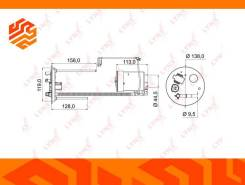 Фильтр топливный Lynxauto LF972M