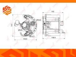 Фильтр топливный Lynxauto LF1002M