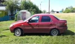 Дверь задняя левая Fiat Albea 2007 1,4
