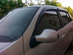Дефлекторы окон (ветровики) Renault Symbol 2008-2012