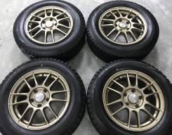 Enkei Rivazza R15 5*114.3 6.5j et50+ 195/65R15 Bridgestone Blizzak VRX