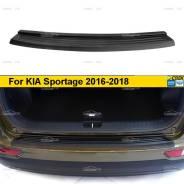 Накладка на задний бампер KIA Sportage 2016-2018