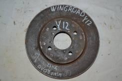 Диск тормозной передний Nissan Wingroad Y12