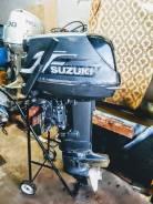 Лодочный мотор сузука 40 л. с. - 2х. т 2010г.