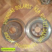 Тормозной диск задний Hyundai Solaris KIA Rio III