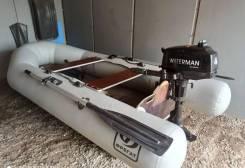 Лодка пвх Фрегат280, мотор Waterman 4
