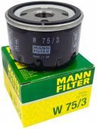 Фильтр масляный Mann W753 Renault