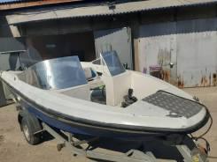Лодка Нептун 3 + мотор Yamaha 60 + прицеп