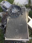 Радиатор кондиционера в сборе с вентилятором Daewoo Nexia