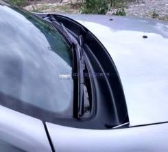 Жабо сборное (матовая) в проем стеклоочистителей Renault Duster