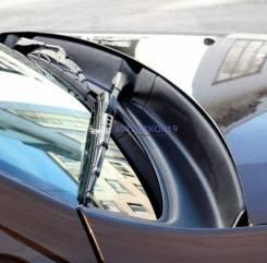 Жабо накладка составная в проем стеклоочистителей Renault Duster