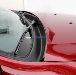 Жабо цельное в проем стеклоочистителей Renault Duster (Рено Дастер)