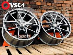 NEW! В Наличиии! # HRE Performance P101 R18 8,5J Gun Grey [VSE-4]