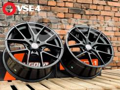 NEW! В Наличии! # HRE Performance P101 R18 8,5J Dark Black [VSE-4]