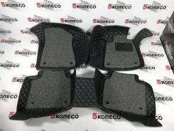 3D ковры в салон правый руль Toyota Crown S180 2003-2008 черные (001)