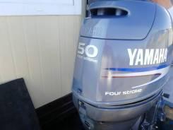 Лодочный мотор Yamaha F 50, гидроподъём.