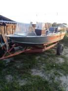 Продам алюминевую моторную лодку Вельбот 37 с дистанцией