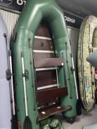 Лодка надувная ПВХ Leader Тайга 290 Киль, Влагостойкий фанерный пол