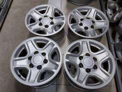 """Оригинальные Toyota Prado90 16"""" 7jj (6*139.7) et+15 цо106.1мм (Канада)"""