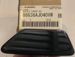 Крышка форсунки омывателя фар, левая 86636-AJ040-VW Subaru оригинал