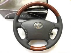 """Обод руля """"Silk Blaze"""" с утолщением и косточкой под дерево для Toyota"""