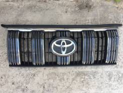 Toyota Land Cruiser Prado 17- решетка радиатора решетка с трещиной