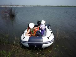 Лодка с мотором Suzuki DT15 в идеальном сотоянии