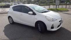 Аренда с выкупом Toyota Aqua Hybrid 2013 г.