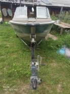 Продам алюминиевую лодку трайке произв