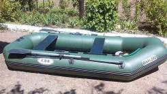 "ПВХ лодка ""Bikin- 290"" с навесным транцем. Как новая."