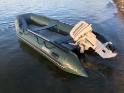 Лодка Brig с мотором Johnson 30лс,