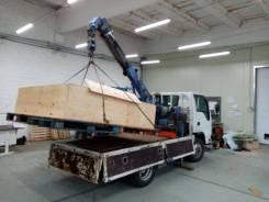 Грузовик - манипулятор 2 тонны 4WD, с краном 2 тонны.
