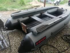 Надувная лодка X-River Agent 390 FB НДНД