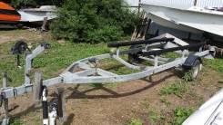 Прицеп для лодок и катера до 5.5м, СВТ-54, телега.