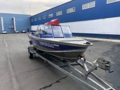 Продам лодку Салют 510 + мотор Mercury ProXS ELPT 115