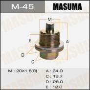 Болт маслосливной 20x1.5 M-45 Masuma Honda